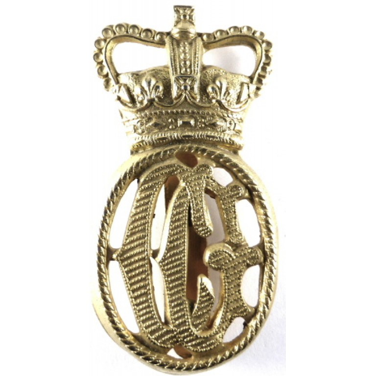 British Coast Guard Brass Cap Badge