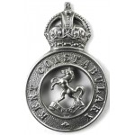 Kent Constabulary Chrome Cap Badge