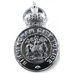 Birmingham City Police Chrome Cap Badge