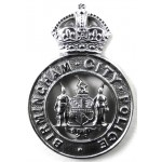 Birmingham City Police Chrome Small