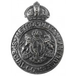 Metropolitan Special Constabulary Bronze Cap Badge