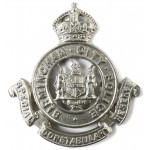 Birmingham Special Constabulary Reserve White Metal Cap Badge