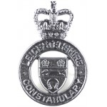 Leicestershire Constabulary Chrome Cap Badge