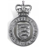 Essex Constabulary Chrome Cap Badge