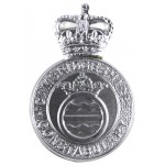 Cambridgeshire Constabulary Chrome Cap Badge