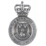 Derby County & Borough Constabulary Chrome
