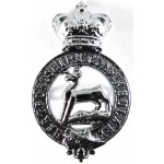Hertfordshire Constabulary Chrome Cap Badge