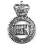 North Yorkshire Police Chrome Cap Badge