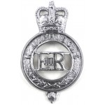 H.M.Prison Service Chrome Cap Badge