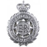 Ministry Of Defence Police Chrome Cap Badge