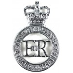Cumberland And Westmorland And Carlisle Chrome Cap Badge