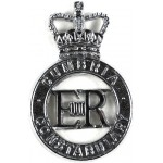 Cumbria Constabulary Chrome Cap Badge