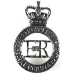Metropolitan Special Constabulary Chrome Cap Badge