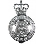 East Sussex Constabulary Chrome Cap Badge
