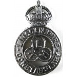Lincolnshire Constabulary Pre 1953 Chrome Cap Badge