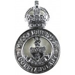 Middlesbrough Constabulary Pre 1953 Chrome Cap Badge