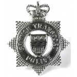 British Transport Police Chrome Cap Badge