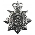 Admiralty Constabulary Chrome Cap Badge