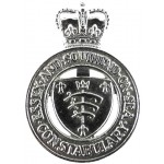 Essex & Southend Constabulary Post 1953 Chrome Cap Badge With Fixing