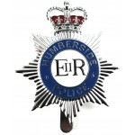 Humberside Police Chrome/Enamel Cap Badge