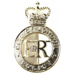 City Of London Police Brass Cap Badge