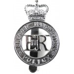 Greater Manchester Police Chrome Cap Badge