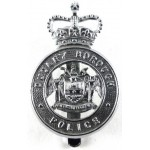 Dudley Borough Police Chrome Cap Badge