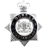 Dorset Constabulary Chrome/Enamel Cap Badge