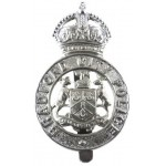 Bradford City Police Chrome Cap Badge