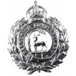 Berkshire Constabulary Chrome Cap Badge