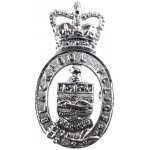 Blackpool Police Chrome Cap Badge