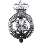Birkenhead Borough Police Chrome Cap Badge