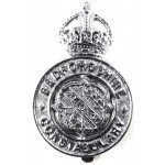 Bedfordshire Constabulary Pre 1953 Chrome Cap Badge