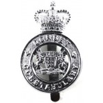 Dorset Constabulary Chrome Cap Badge