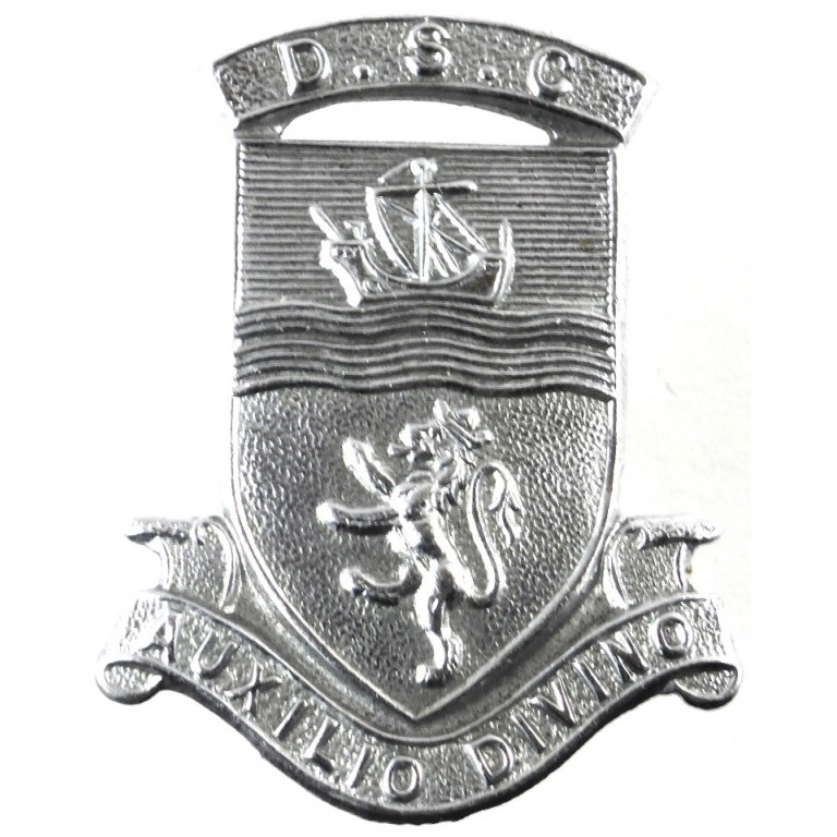 Devon Special Constabulary Chrome Cap Badge