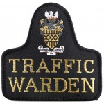 West Midlands Traffic Warden Sweater Patch