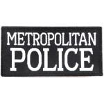 Metropolitan Police Cloth Sweater Patch