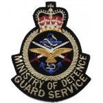 Ministry Of Defence Guard Service Cloth Arm Badge