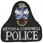 Devon & Cornwall Police Cloth Pullover Patch