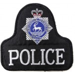 Hertfordshire Constabulary Cloth Pullover Patch Badge