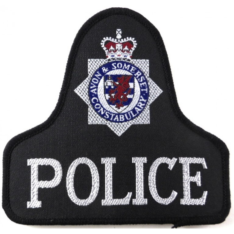 Avon & Somerset Constabulary Cloth Pullover Patch Badge