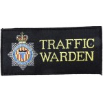 Northumbria Police Traffic Warden Cloth Pullover Patch