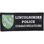Lincolnshire Police Communications Cloth Pullover Patch