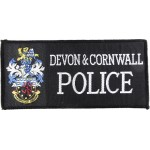 Devon & Cornwall Police Cloth Pullover Patch Large Lettering