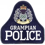 Grampian Police Cloth Pullover Patch Blue