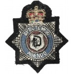 North Yorkshire Police Training School Newby Wiske Bullion Badge