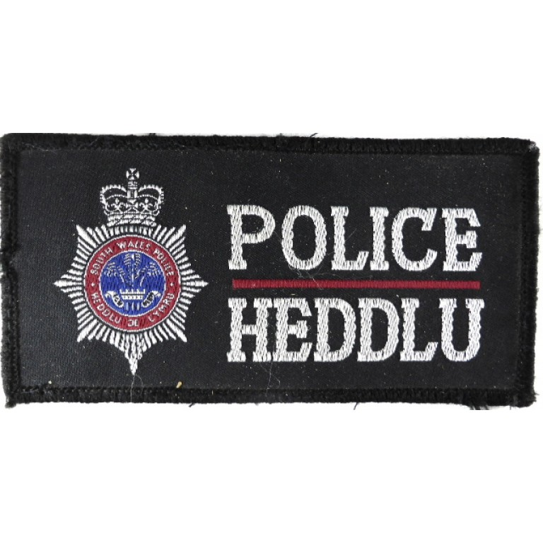 South Wales Police Cloth Patch