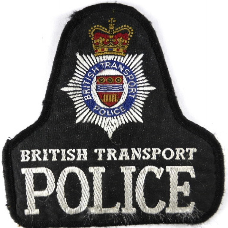 British Transport Police Cloth Pullover Patch