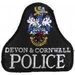 Devon & Cornwall Police Cloth Sweater Patch