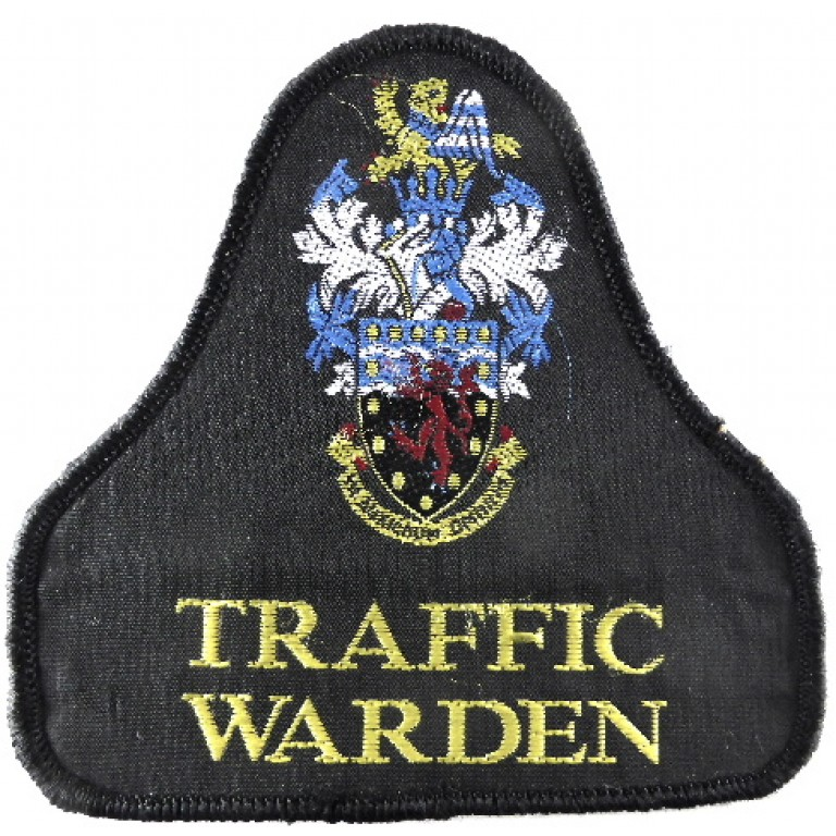 Devon & Cornwall Police Traffic Warden Cloth Sweater Patch